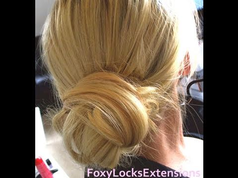 Wrap Around Bun Tutorial