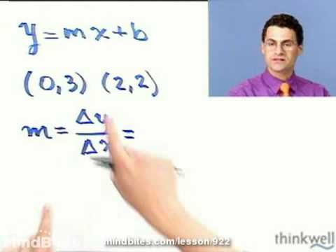 Beg Algebra: Finding equations Given Two Points