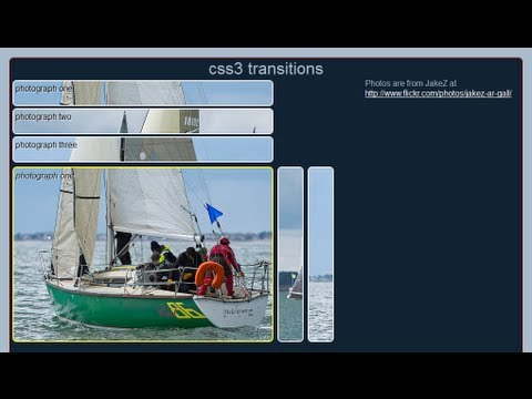 CSS Transitions For Photo Gallery (Part 2)