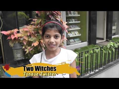 Tongue Twister - Two Witches
