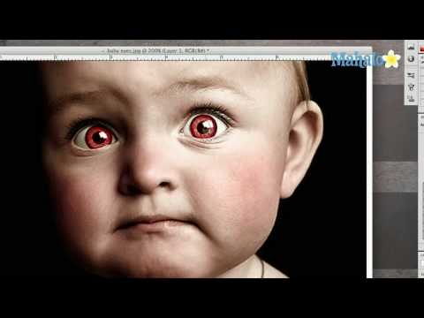Create Demon Eyes in Photoshop