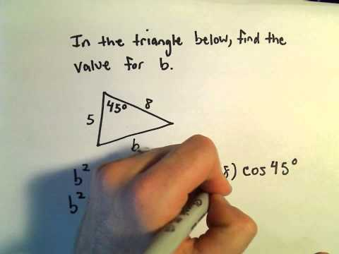 Law of Cosines, Example 5
