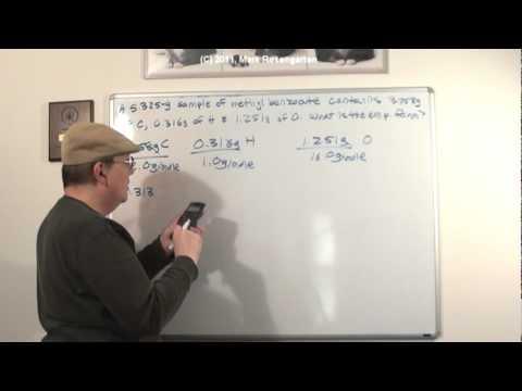 Ask Rosengarten (1/24/11): Empirical Formulas and Allotropes of Oxygen