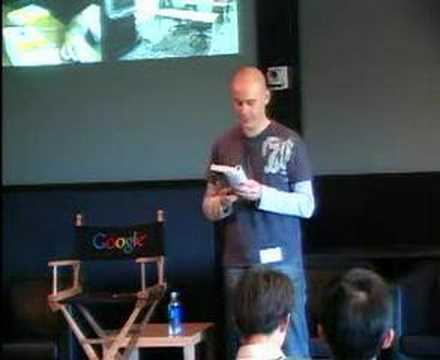 Authors@Google - Max Barry