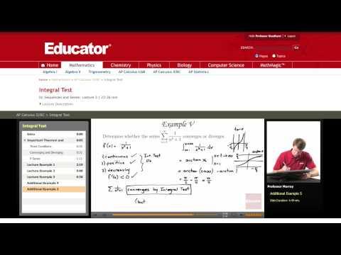 Calculus: Integral Test