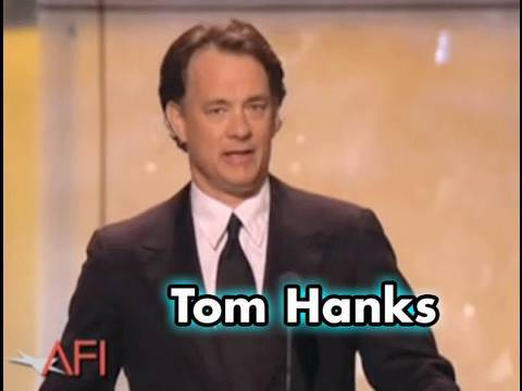 Tom Hanks Salutes George Lucas at the AFI Life Achievement Award