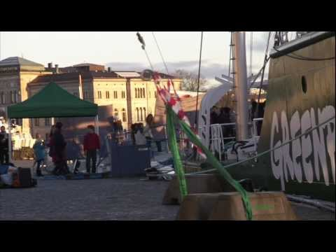 Snippets from the Rainbow Warrior: Stockholm 8 AM