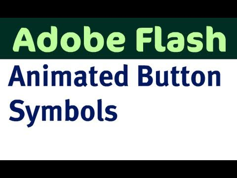 Make Animated Buttons in Flash