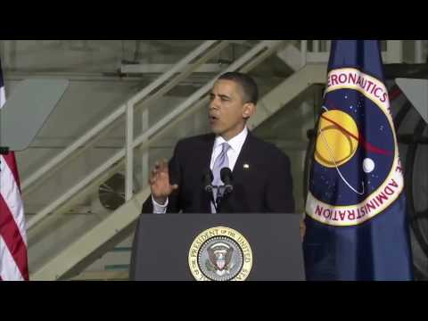 President Obama Pledges Total Commitment to NASA