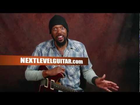 Easy Beginner guitar fun learn power chord rock rhythm and licks Black Sabbath inspired lesson