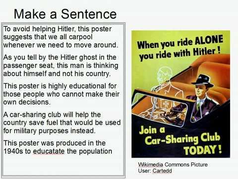 Make A Sentence Double Trouble 46: Propaganda for Families