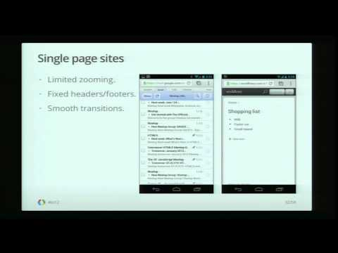 Google I/O 2012 - Fast UIs for the Cross-Device Web