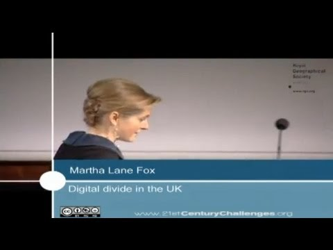 Martha Lane Fox - 21st Century Challenges series