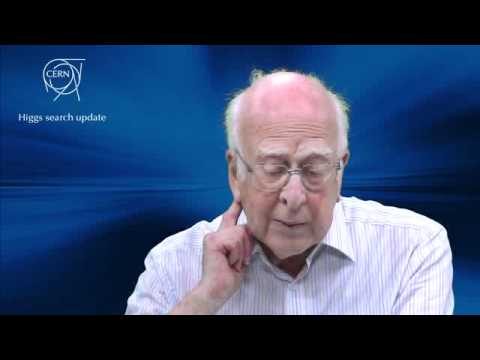 Interview to prof. Peter Higgs about the latest results on the searches for the Higgs boson
