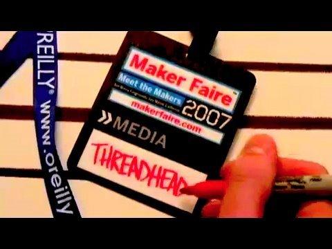 Maker Faire, Craft Show, Threadbanger