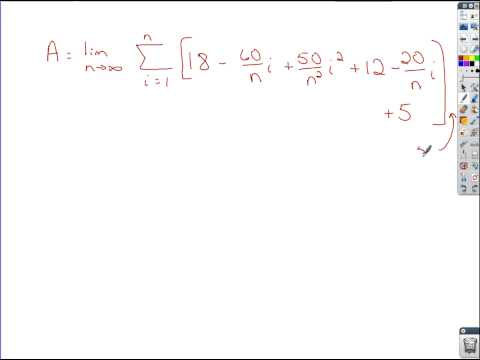 Calculus - Exact Area with Limit of a Riemann Sum