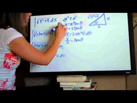 Trigonometric Substitution Example 3