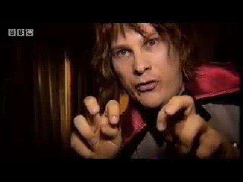 Human vampire video log -  Marc Wooton Exposed - BBC comedy