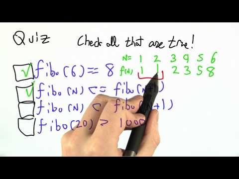 Recursive Definition Solution - CS262 Unit 4 - Udacity