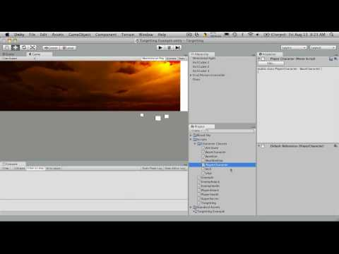 21. Unity3d Tutorial - Character Creation 1/5