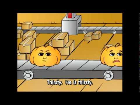 Basic English Emotions pt.4 - Kids ESL Vocabulary Cartoon by Pumkin.com