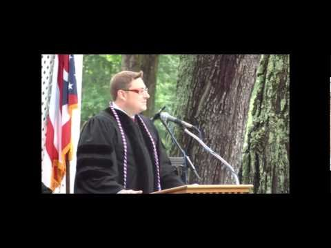 Sean Lane at Rio Grande University 2012 Commencement Address - Part 1