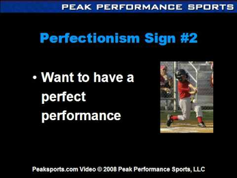 Sports & Psychology: Six Signs of Perfectionist Sports Kids