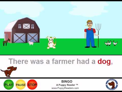 BINGO Animated Nursery Rhyme for Kids
