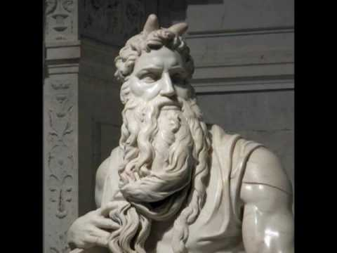Michelangelo, Moses, ca. 1513-15