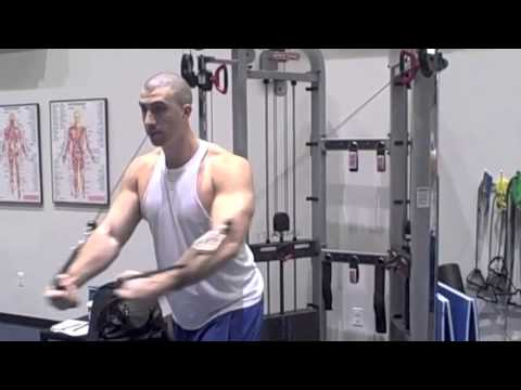 How To Do Chest Flyes: Cable Chest Fly Workout