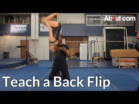 How to Teach a Back Flip