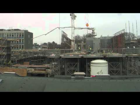 Construction progress, Dec 2011 - Darcy