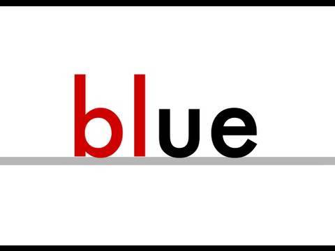ue  -  Phonics  -  clue, true, blue