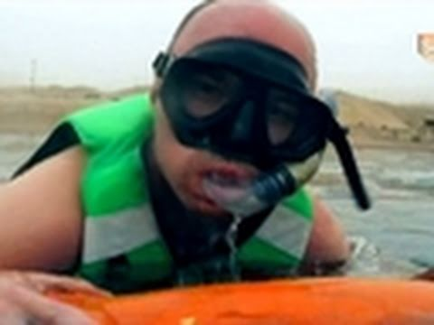 An Idiot Abroad- Karl Goes Snorkeling