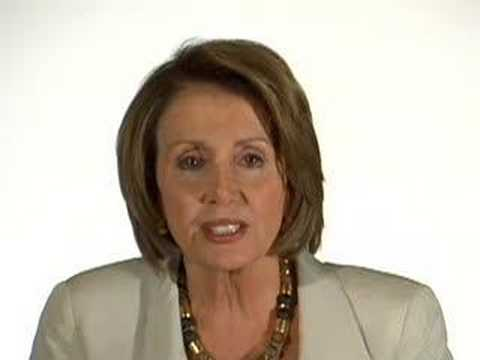 Nancy Pelosi on trying to get us out of Iraq