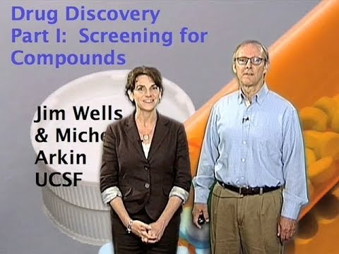Jim Wells and Michelle Arkin(UCSF) Part 1: Introduction to Drug Discovery