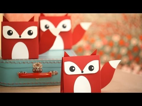 Fox Favor Box DIY: How to Make Yourself || Kin DIY