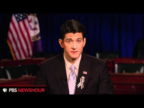 Rep. Paul Ryan Gives Republican Response to State of the Union Address