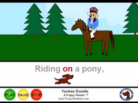 Yankee Doodle: Song Animation for Cartoon