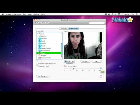 Using a Mac - Screensaver