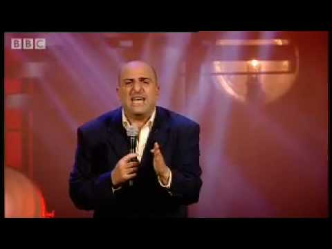 Iran v England football question - Omid Djalili comedy stand up - BBC
