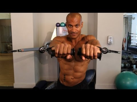 How to Do a Cable Chest Press | Home Chest Workout for Men