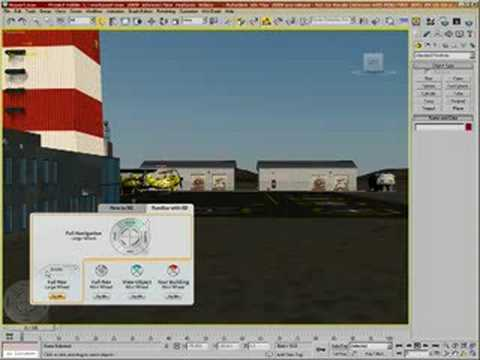 3dsMax09 Video Demo 01 Navigation Tools