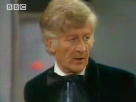 Monster professor - Doctor Who  - BBC classic sci-fi