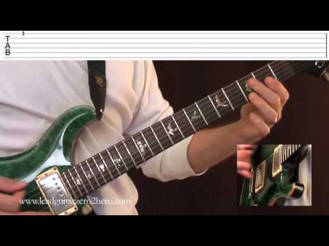 """01 Learn Electric Guitar """"How To Read Tab"""" - Rock Guitar Lesson"""