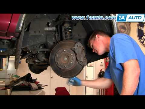 How To Install Replace Front Brake Rotors Toyota Tundra 00-05 1AAuto.com