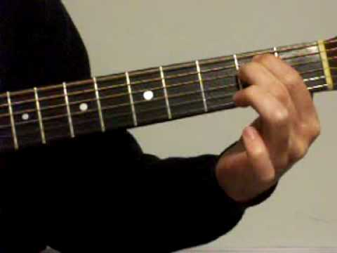4 open chords and an easy progression