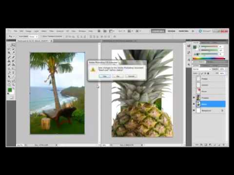 Photoshop Tutorial : How to use Layers in Adobe Photoshop CS5
