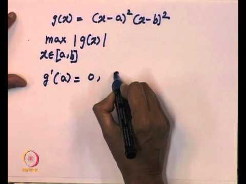 Mod-01 Lec-06 L6-Cubic Hermite Interpolation