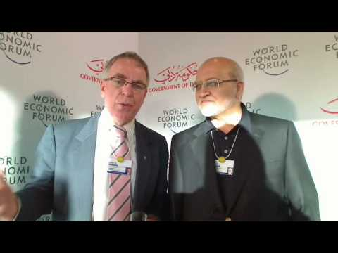 Dubai 2009 Global Agenda Summit - John Williams & Hussain Dawood 2